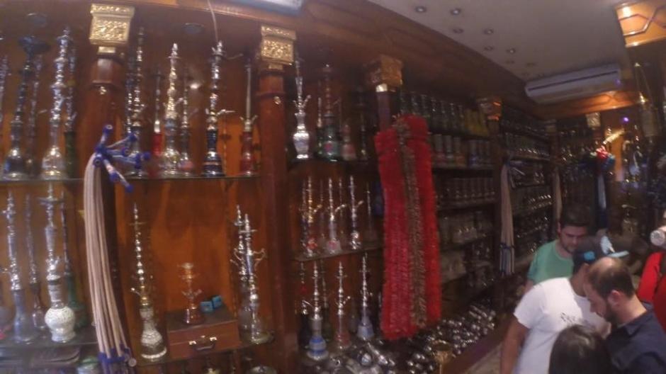 Loja Khalil Mamoon no Cairo